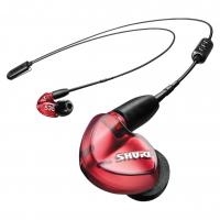 Shure SE535 Wireless Earphones - Red (BT2 + UNI Cable)