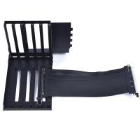 Lian Li O11DXL-1 Riser Card Cable and PCIe Slot Bracket for PC-O11DXL - Black