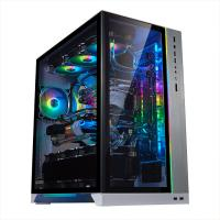 Lian Li PC-O11 Dynamic XL ROG Certified Tempered Glass RGB EATX Case - Silver