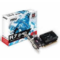 MSI Radeon R7 240 2G Low Profile Graphics Card
