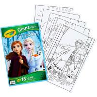 Crayola Frozen 2 Giant Colouring Pages