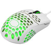 Cooler Master MasterMouse MM711 Ultra Lightweight RGB Optical Gaming Mouse - Matte White
