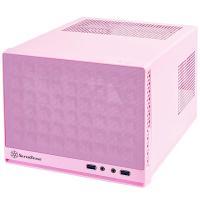Silverstone Sugo Series Mesh Mini ITX Case - Pink