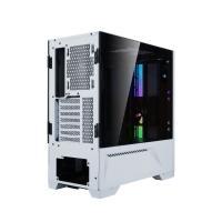 Lian Li Lancool II RGB Tempered Glass Mid Tower ATX Case - White