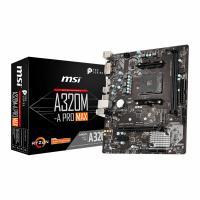 MSI A320M-A Pro Max AM4 mATX Motherboard