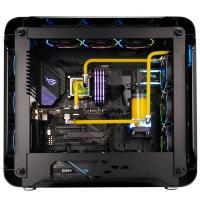 Inwin 925 Aluminium Tempered Glass ARGB Full Tower EATX Case - Black
