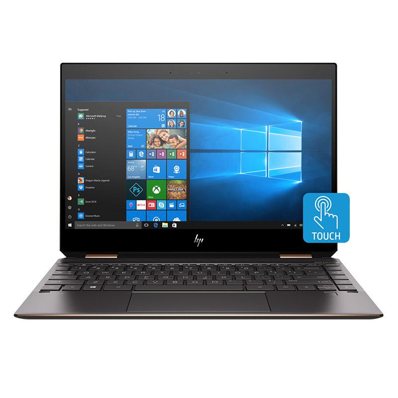 HP Spectre X360 15-DF0001TX I7-8750H 512GB SSD 16GB RAM W10H GTX1050TI GC 15.6in UHD Touch WL-AC BT-5.0 6-CELL BATT