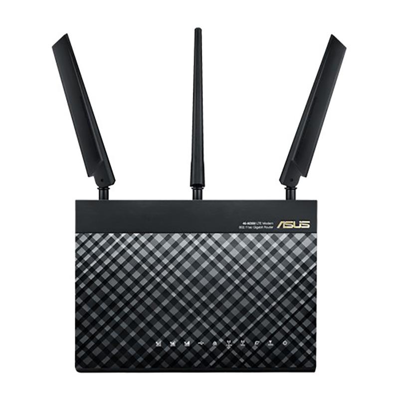 Asus 4G-AC55U AC1200 Dual Band 4G LTE Wi-Fi Modem Router
