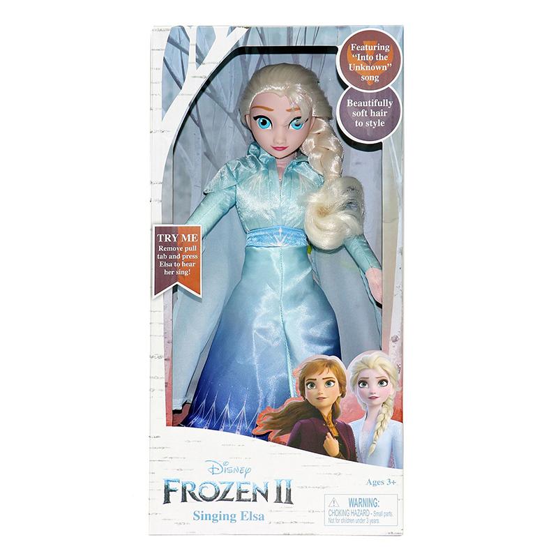 Frozen 2 Singing Anna & Elsa Feature Plush - Elsa