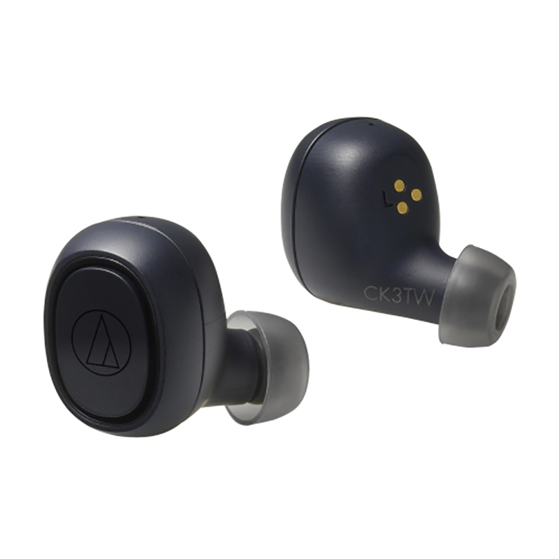Audio Technica ATH-CK3TW True Wireless In Ear Headphones - Black