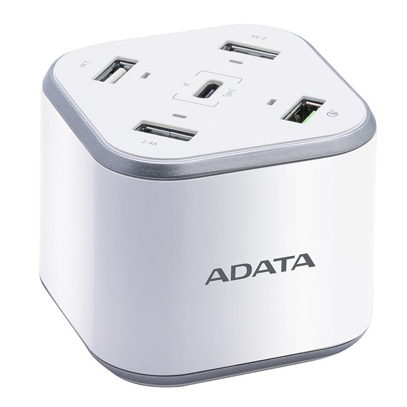 ADATA 5 Port USB Charging Station