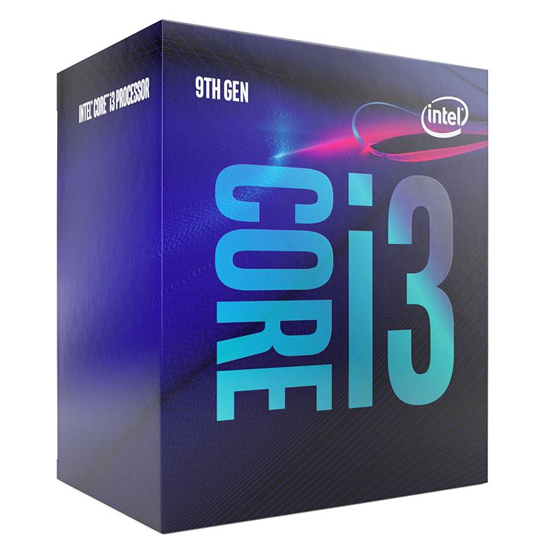 Intel Core i3 9100 4 Core LGA 1151 3.60GHz CPU Processor
