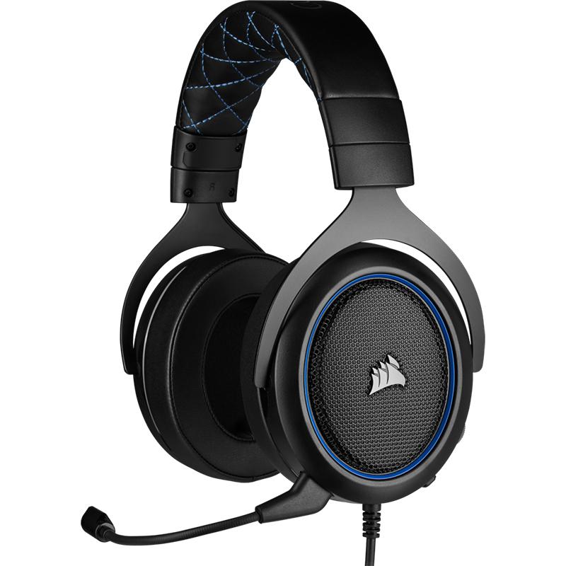 Corsair HS50 PRO Gaming Headset Blue