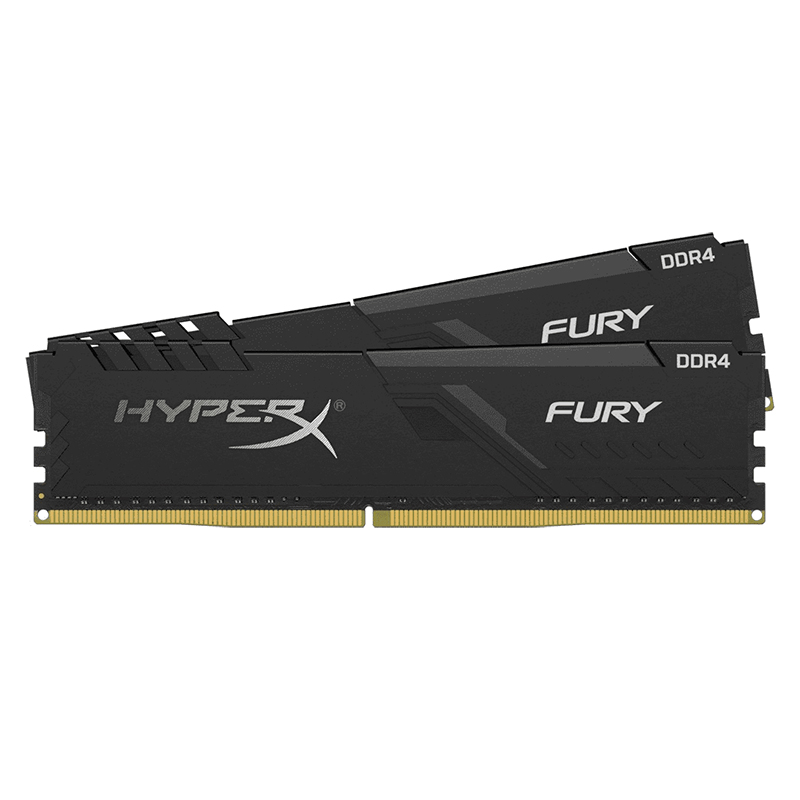 Kingston 32GB (2x16GB) HX426C16FB3K2/32 DDR4 2666MHz HyperX Fury Black