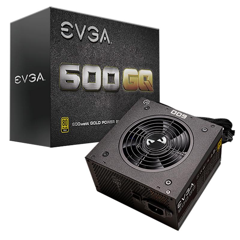EVGA 600w GQ 80+ Gold Power Supply (21E-GQ-600W)