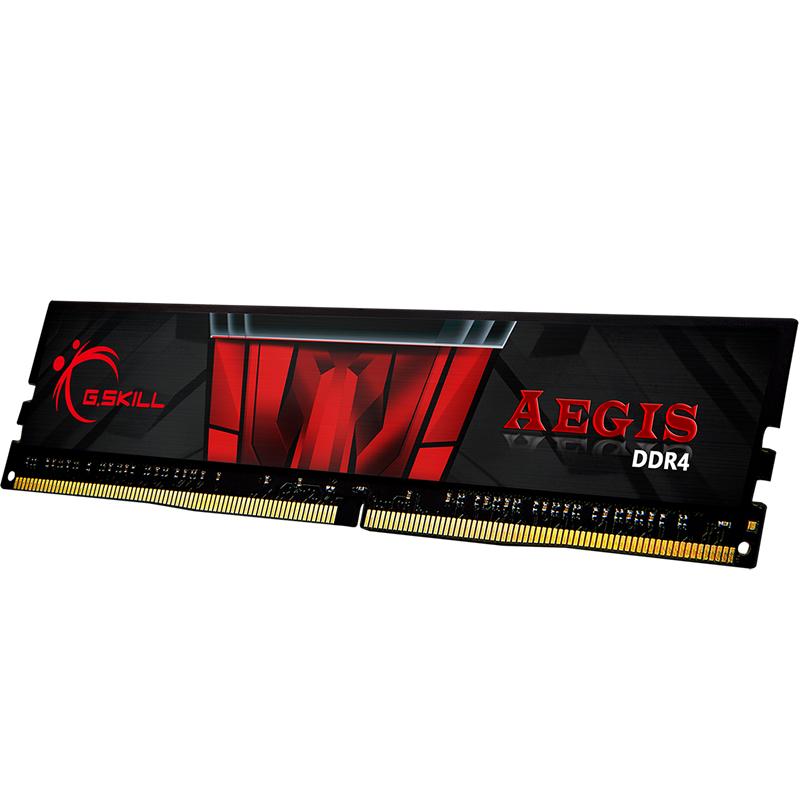 G.Skill 16GB (1x16GB) F4-2400C15S-16GIS Aegis 2400MHz DDR4 RAM - Black