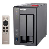 QNAP TS-251+-8G 2 Bay Celeron Quad Core 8GB NAS
