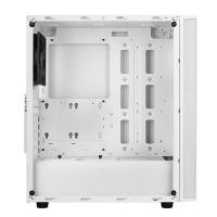 SilverStone Fara R1 Tempered Glass Mid Tower ATX Case - White
