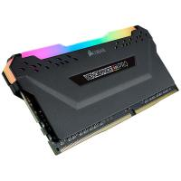 Corsair 32GB (4x8GB) CMW32GX4M4Z3200C16 Vengeance RGB Pro 3200MHz DDR4 RAM - Black