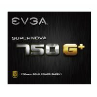 EVGA 750w SuperNova G+ 80+ Gold Power Supply (21E-SNGP-750W)