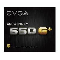 EVGA 650w SuperNova G+ 80+ Gold Power Supply (21E-SNGP-650W)