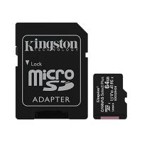 Kingston Canvas Select 64GB C10 100MB/s MicroSDXC Card