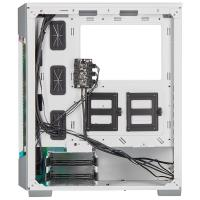 Corsair iCUE 220T Tempered Glass RGB Mid Tower ATX Case - White