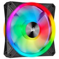 Corsair iCUE QL140 RGB 140mm Fan Black - 2 Pack with Lighting Node Core