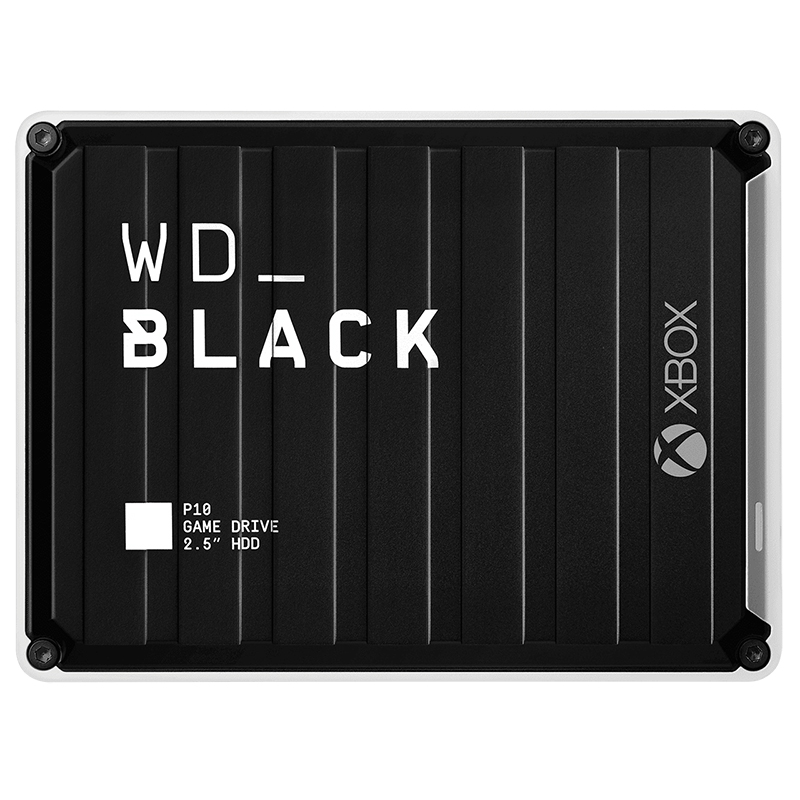 WD Black P10 3TB Game Drive for XBox One - Black/White