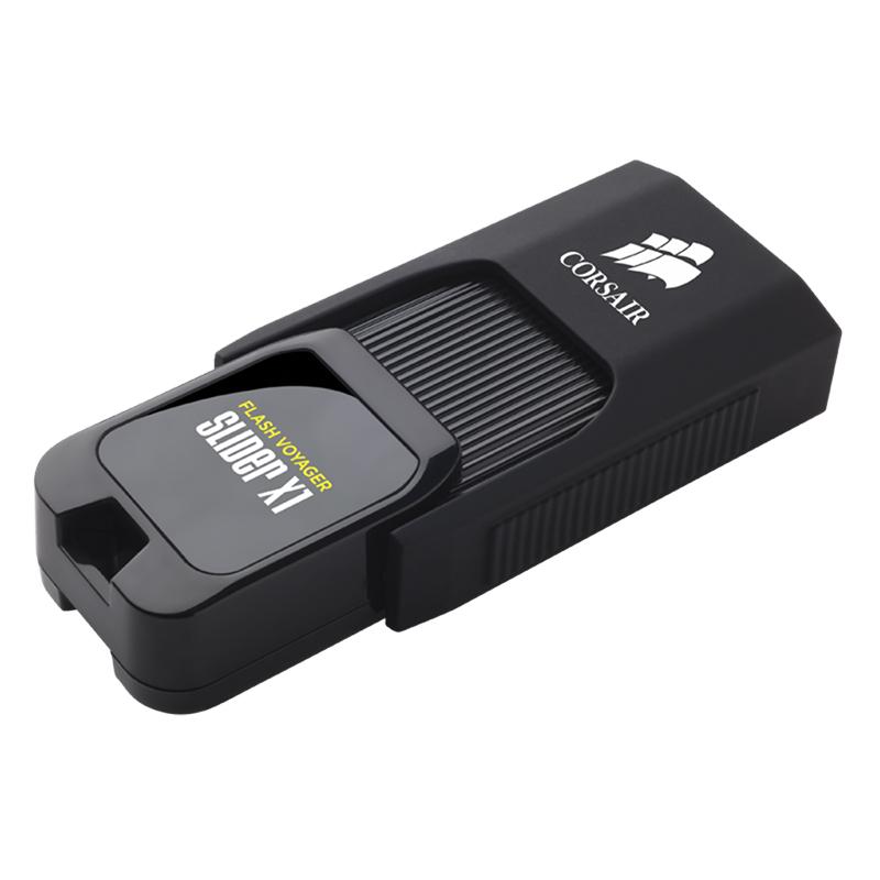 Corsair 128GB Flash Voyager X1 USB 3.0 Drive - Black