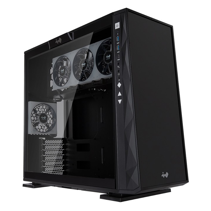 Inwin 309 ARGB Tempered Glass Mid Tower ATX Case - Black