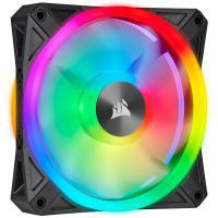 Corsair iCUE QL120 RGB 120mm PWM Fan Black - 1 Pack