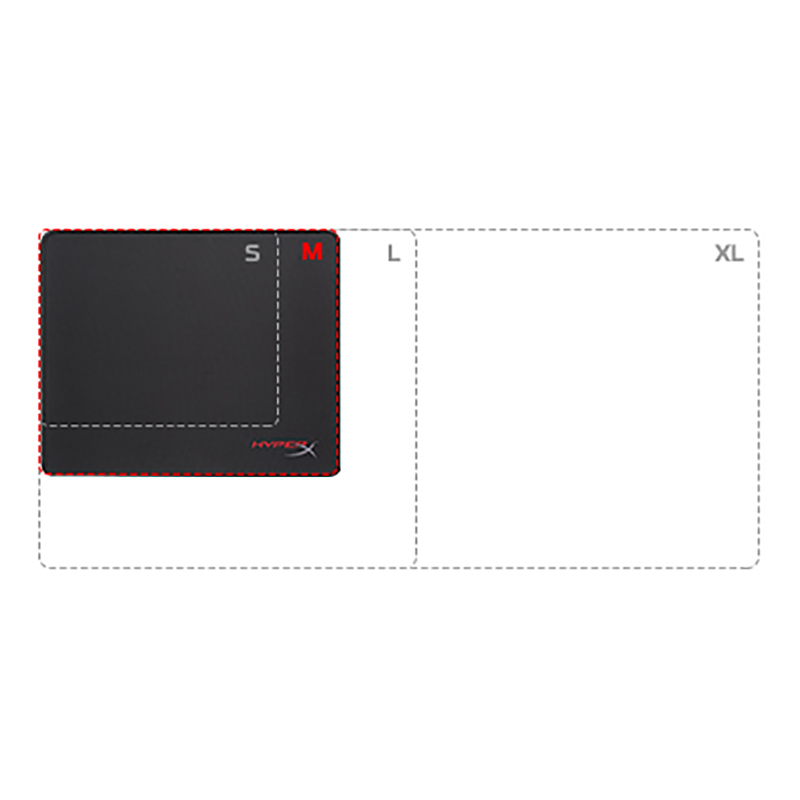 HyperX FURY S Pro Gaming M Mouse Pad