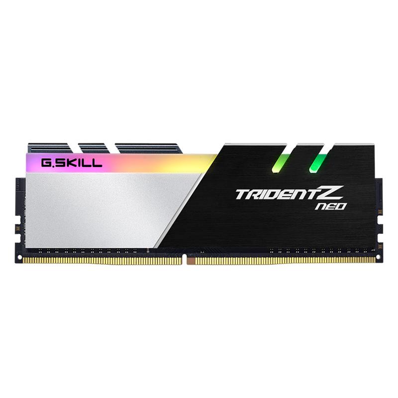 G.Skill 32GB (4x8GB) F4-3800C14Q-32GTZN Trident Z Neo 3800MHz DDR4 RAM