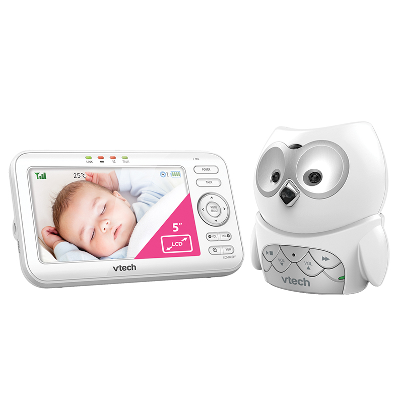 VTech Video and Audio Baby Monitor (BM5100-OWL)