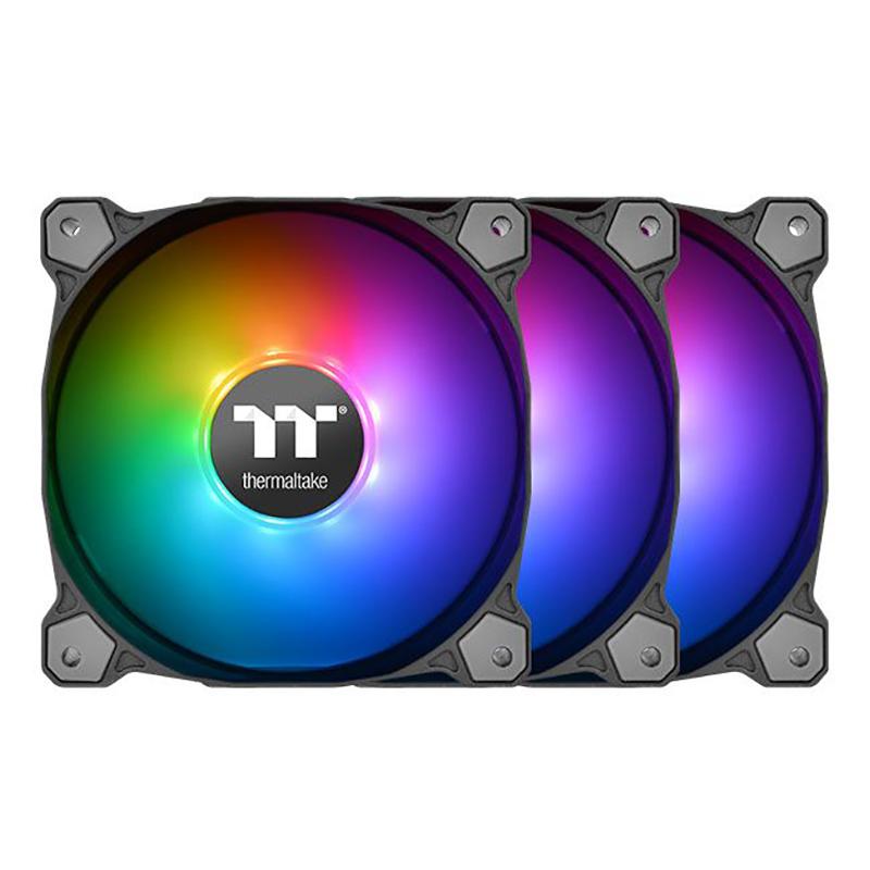 Thermaltake Pure 12 120mm ARGB Sync Radiator Fan TT Premium Edition - 3 Pack