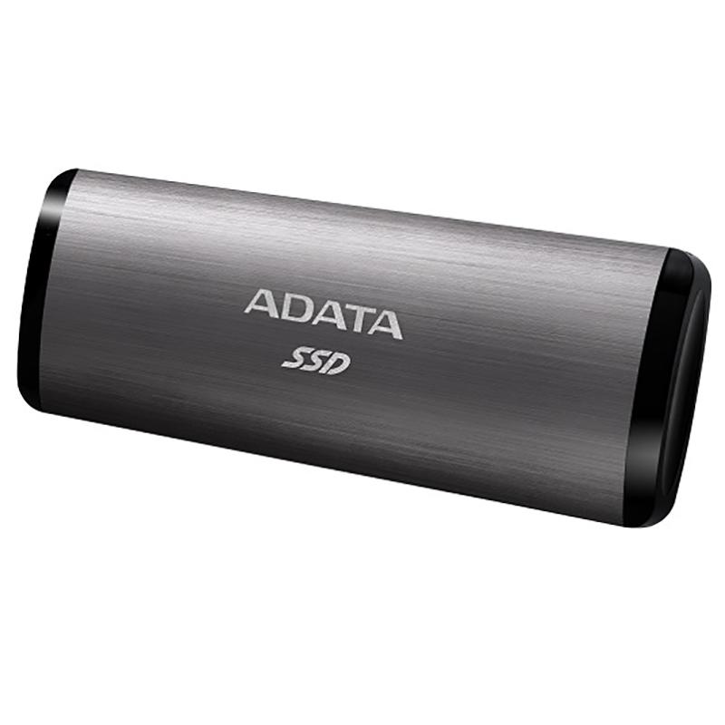 ADATA 256GB SE760 USB Type C External SSD - Titanium Grey