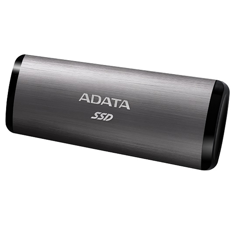 ADATA 512GB SE760 USB Type C External SSD - Titanium Grey