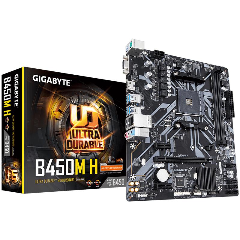 Gigabyte B450M-H AM4 mATX Motherboard