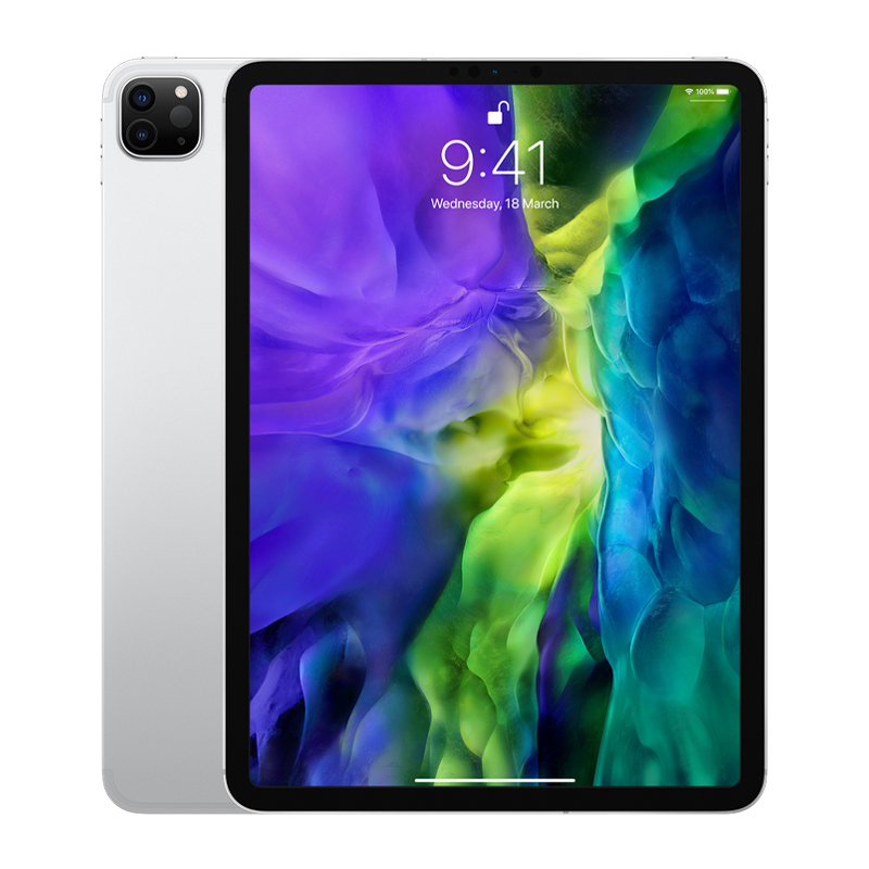 Apple 11 inch iPad Pro - WiFi + Cellular 256GB - Silver (MXE52X/A)