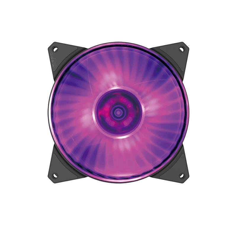 Cooler Master MasterFan MF140R 140mm RGB Fan Black - 1 Pack
