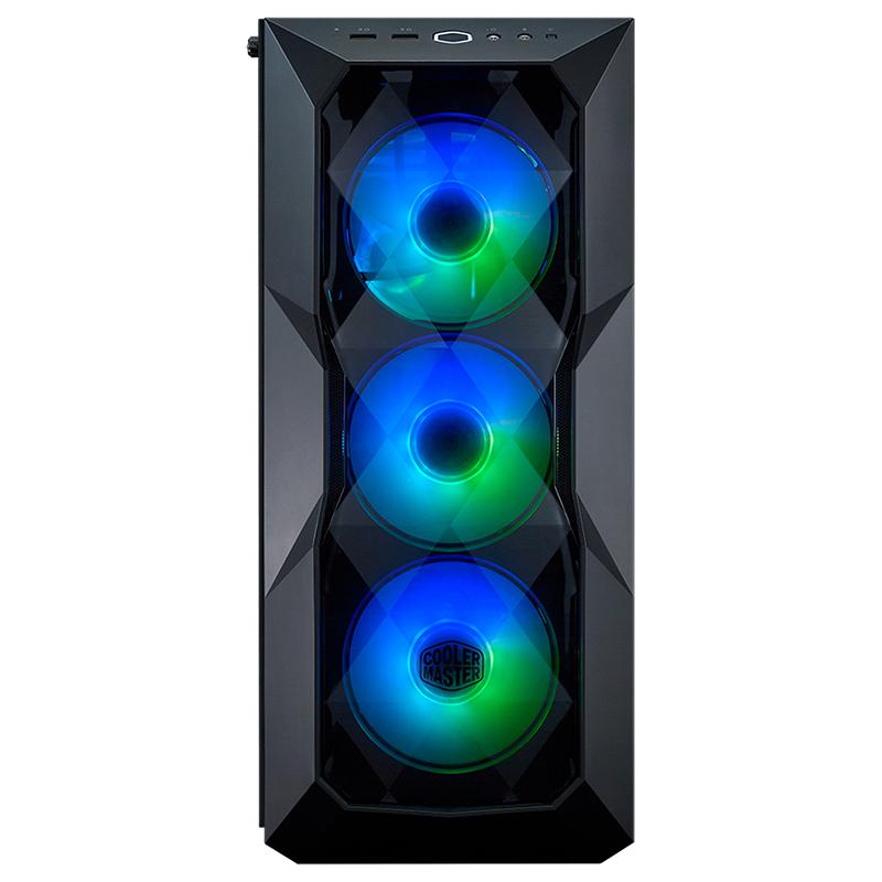 Cooler Master MasterBox TD500 Crystal ARG TG Mid Tower ATX Case