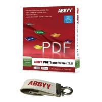 ABBYY USB Key Software Bundle - PDF Transformer+ and Business Card Reader and Screenshot Reader