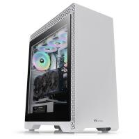 Thermaltake S500 Tempered Glass Mid Tower Case Snow Edition