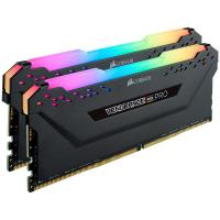 Corsair 16GB (2x8GB) CMW16GX4M2Z3600C18 Vengeance RGB PRO 3600MHz DDR4 RAM - Black