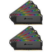 Corsair 64GB (8x8GB) CMT64GX4M8C3200C16 Dominator Platinum RGB 3200MHz DDR4 RAM - Black