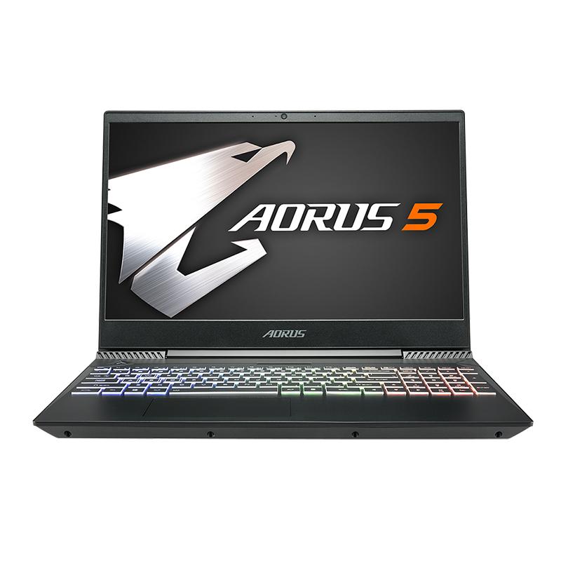 Gigabyte Aorus 5 15.6in FHD IPS 144Hz i7-9750H GTX1650 512GB SSD Gaming Laptop (AORUS 5 NA-7AU1130SH)
