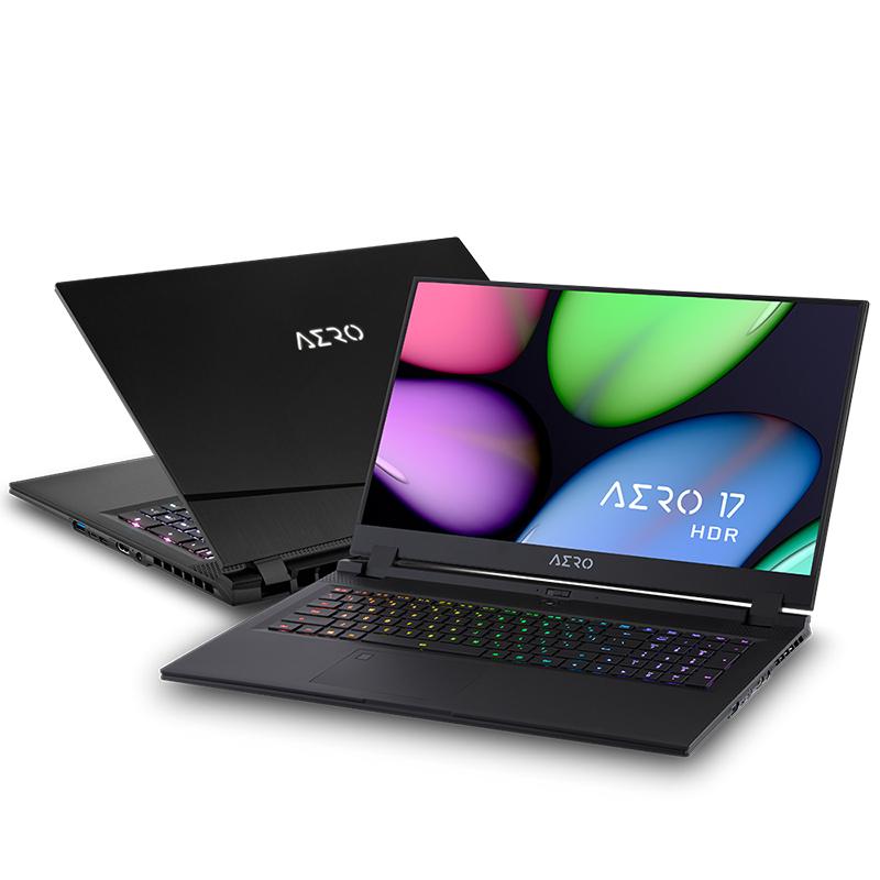 Gigabyte Aero 17.3in FHD 144Hz i7-10750H GeForce RTX2060 512GB SSD 16GB RAM W10H Gaming Laptop (AERO 17 KB-7AU1130SH)