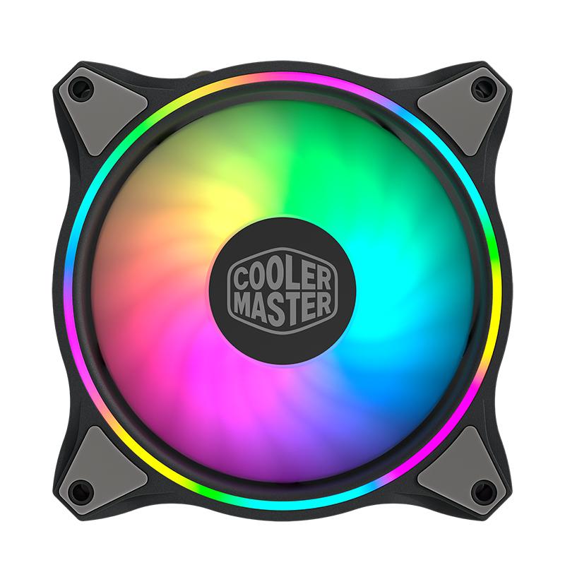 Cooler Master MasterFan MF120 HALO 120mm ARGB Fan - 3 Pack