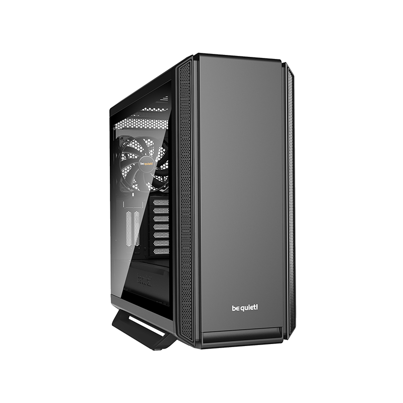 be quiet! Silent Base 801 Tempered Glass ATX Case - Black